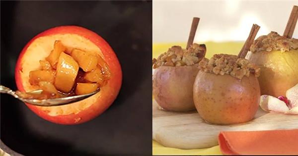 Công thức làm bánh táo nướng vừa thơm ngon bổ dưỡng