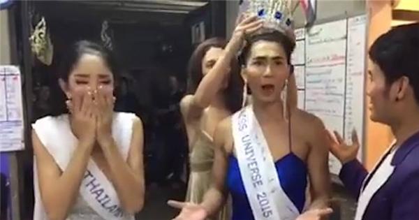 Cười thả ga với clip chế HH Hoàn vũ của dân mạng Thái Lan