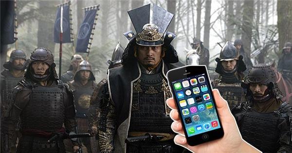 Sẽ ra sao nếu samurai thời xưa sử dụng điện thoại?