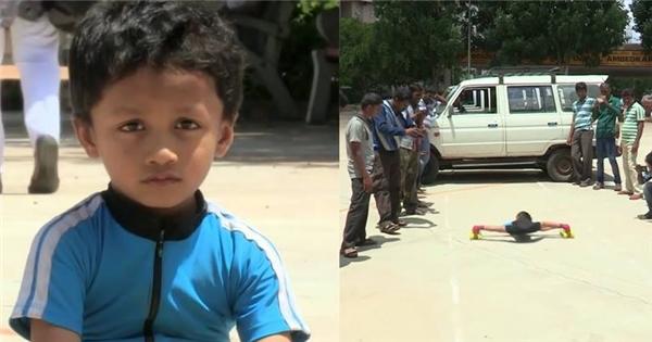 Gặp cậu bé 6 tuổi với ước mơ quyết trượt qua gầm 100 chiếc ô-tô