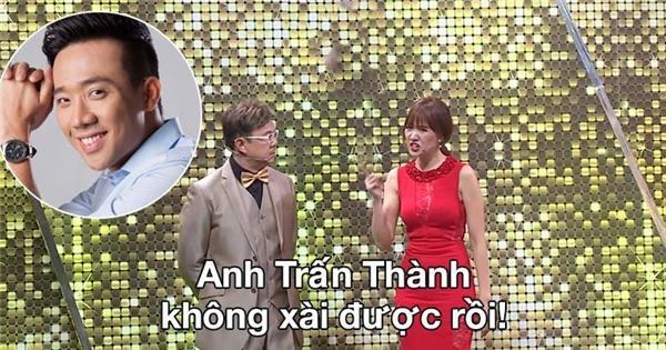 """Hari Won: """"Trấn Thành không xài được!"""""""