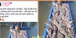 Thiếu nữ đăng ảnh 'phóng sinh cá sấu' bị ném đá dữ dội