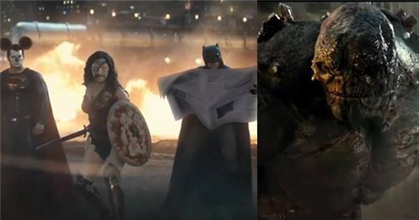 """Cười """"vỡ bụng"""" với trailer chế Batman & Superman với kĩ xảo như thật"""