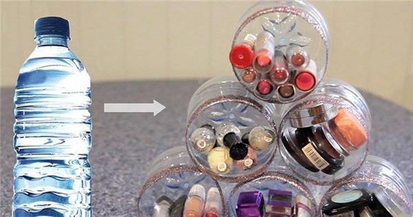 Tuyệt chiêu tái chế vỏ chai nhựa bỏ đi không phải ai cũng biết