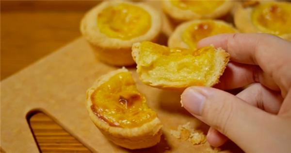 Tự làm bánh tart trứng Hồng Kông trứ danh thơm ngon tại nhà