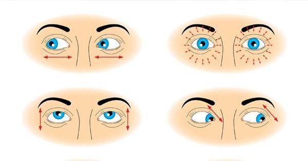 Luyện mắt siêu khoẻ với bài thể dục đơn giản