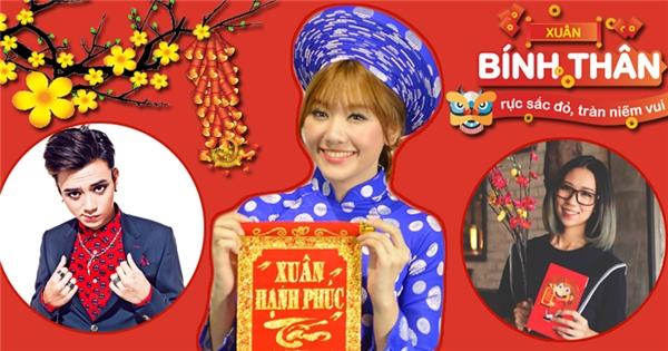 Soobin Hoàng Sơn, Hari Won cùng Min tưng bừng chúc Tết