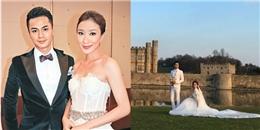 Hé lộ ảnh cưới thơ mộng của Dương Di và La Trọng Khiêm ở Anh