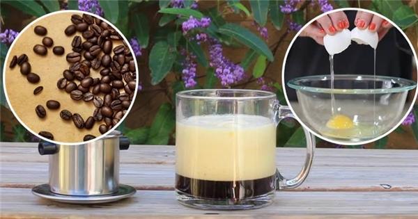 Lạ mắt ngon miệng với món cà phê trứng khiến giới trẻ mê tít