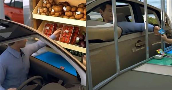 Lạ kì với hình mẫu siêu thị trong tương lai