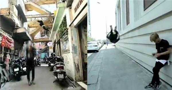 Parkour - môn thể thao khiến giới trẻ Sài Gòn bay lộn như xiếc