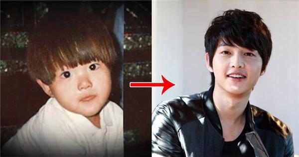 Hóa ra 31 năm nay, Song Joong Ki đã thay đổi thế này