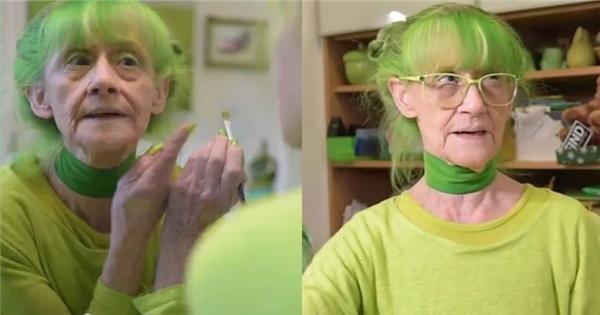 Cuộc sống thú vị của cụ bà cuồng màu xanh lá chuối