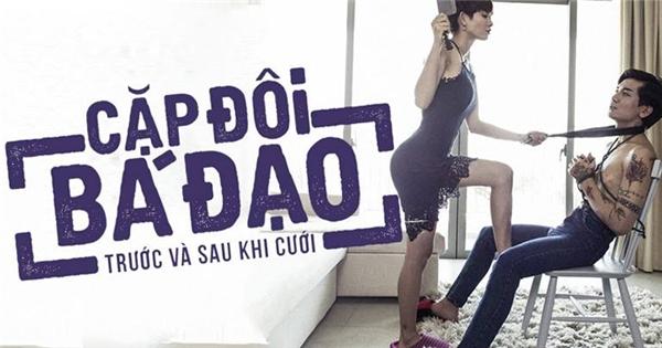 """""""Té xỉu"""" trước những tình huống """"vợ chồng"""" của Kim Nhã - BB Trần"""