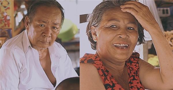 Lặng người trước suy nghĩ về hạnh phúc của hai vợ chồng già