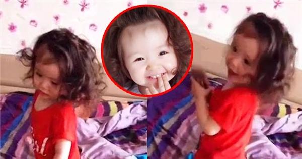Con gái Elly Trần trổ tài vũ công quá sức dễ thương