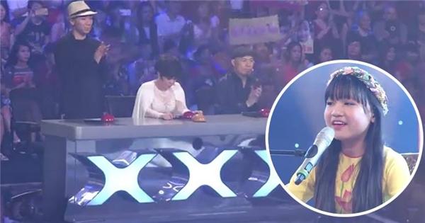 Giọng hát 12 tuổi khiến Trấn Thành phải đứng dậy vỗ tay không ngớt