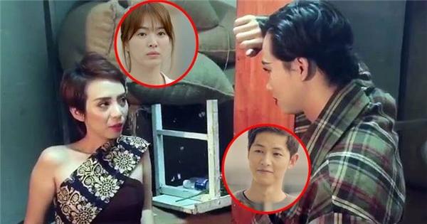 """Thu Trang - Hải Triều - Diệu Nhi tung """"Hậu duệ mặt trời"""" phiên bản bựa"""