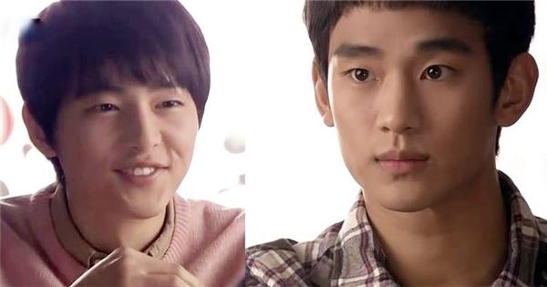 Phát hiện clip Song Joong Ki đóng cặp cùng Kim Soo Hyun thời mới nổi