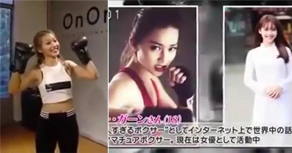 Khả Ngân lên sóng truyền hình Nhật đầy cá tính và đáng yêu