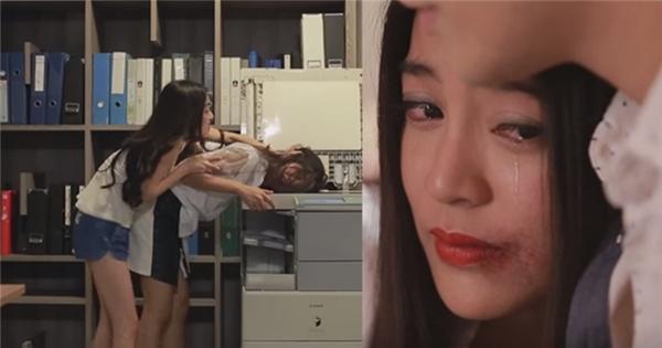"""""""Tình Yêu Không Có Lỗi 2"""" tập 8 : Katun điên tiết, đánh Lee vì tội dám thân mật với Nat"""