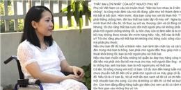 Cô gái trên xe lăn và phát ngôn sửng sốt về