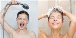 Chỉ riêng cách tắm thôi cũng tiết lộ nhiều điều về bạn lắm nha!