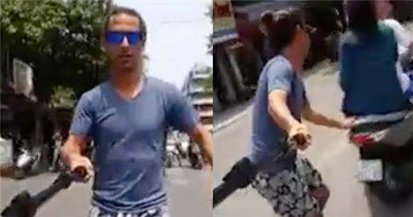 Hồi hộp cảnh người nước ngoài trượt ván giữa đường phố Việt Nam