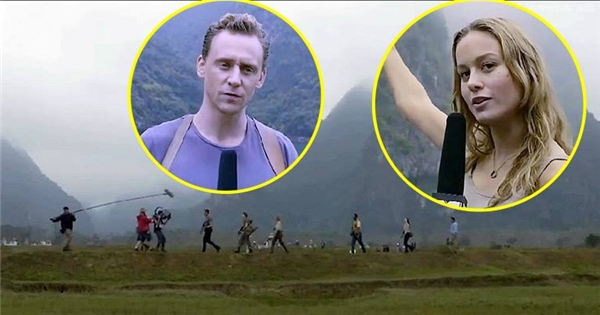 Hé lộ hình ảnh Việt Nam trên cảnh quay đầu tiên của Kong: Skull Island