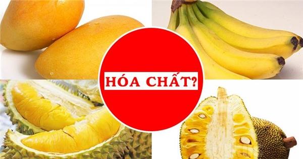 Cách chọn và phân biệt 4 loại trái cây ngậm nhiều hóa chất, bạn biết chưa?