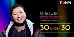 Cảm phục nghị lực cô gái người Mông được Forbes vinh danh