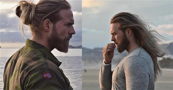 """Dân mạng """"đứng hình"""" trước nam thần quân nhân Na Uy đẹp trai như Thor"""