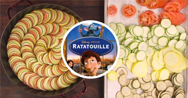 """Bí quyết làm món rau hầm """"Ratatouille"""" nổi tiếng trong truyền thuyết"""