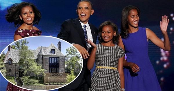 Gia đình Tổng thống Obama sẽ ở nhà thuê sau khi hết nhiệm kì