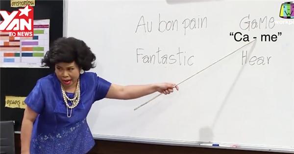 """Cô giáo Thái Lan """"bá đạo"""" trở lại với bài học tiếng Anh """"hại não"""""""