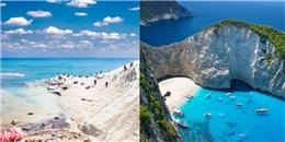 'Lạc mất trái tim' ở 25 bãi biển đẹp nhất thế giới