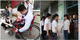 Trung Quốc: Nữ sinh mặc áo ngực có móc kim loại bị cấm vào phòng thi