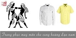 Những màu sắc trang phục may mắn cho 12 cung hoàng đạo nam