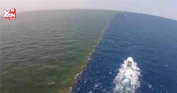 Cận cảnh biển hai màu đẹp và độc đáo nhất thế giới