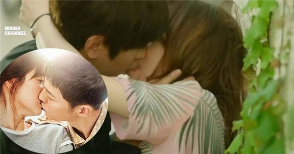 """Nụ hôn mãnh liệt nhất lịch sử phim Hàn đánh bật """"Hậu duệ Mặt trời"""""""