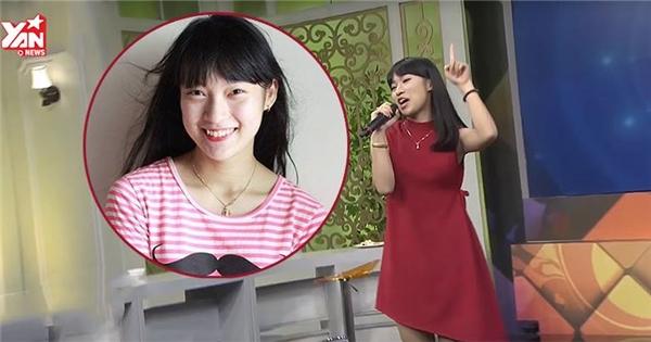 """Nữ sinh nói 7 thứ tiếng trổ tài """"bắn"""" rap tiếng Anh trên sóng truyền hình"""