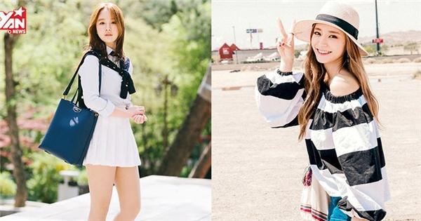 Học hỏi gái Hàn diện trang phục mùa hè đơn giản nhưng quá xinh