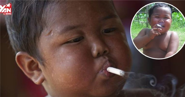 """Tuổi thơ """"dữ dội"""" của cậu bé hết nghiện thuốc lá đến nghiện đồ ăn"""