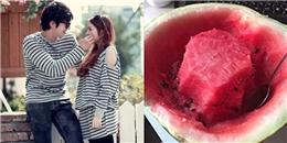 Ganh tị với chuyện chồng ăn dưa để phần ngọt nhất lại cho vợ