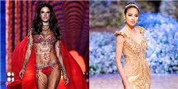 """Phạm Hương được tung hô """"trên cơ"""" thiên thần Victoria's Secret"""