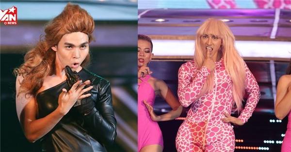 Liveshow cuối, 365 giả gái từ Britney cho đến Beyoncé