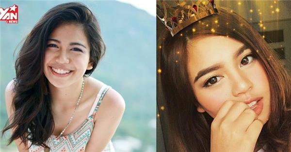 """Vẻ đẹp lai của """"hot girl"""" Thái gốc Việt khiến cư dân mạng mê mẩn"""