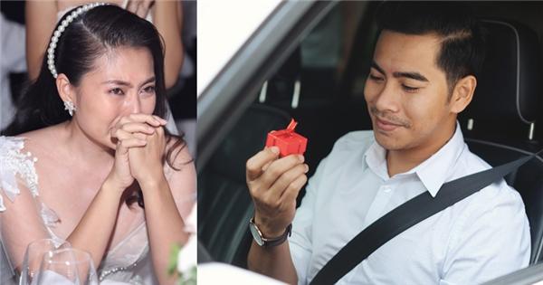 """Tiết lộ """"món quà"""" xúc động Thanh Bình dùng để cầu hôn Ngọc Lan"""