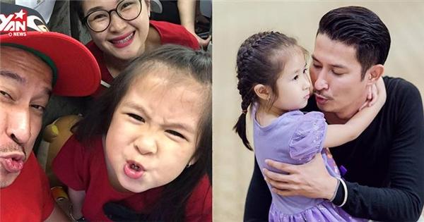 Con gái Huy Khánh bắt mẹ xin lỗi bố quá sức dễ thương