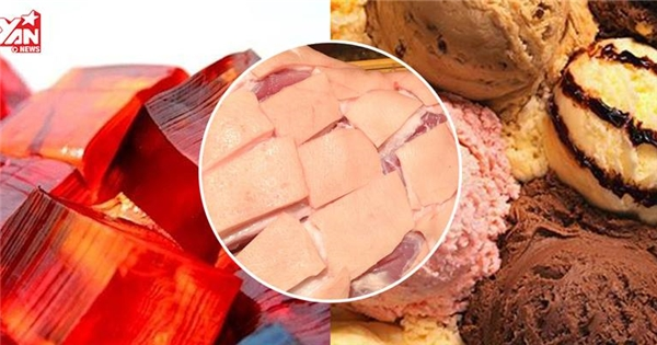 Vì sao người ăn chay không nên ăn luôn cả kem, rau câu, kẹo dẻo?